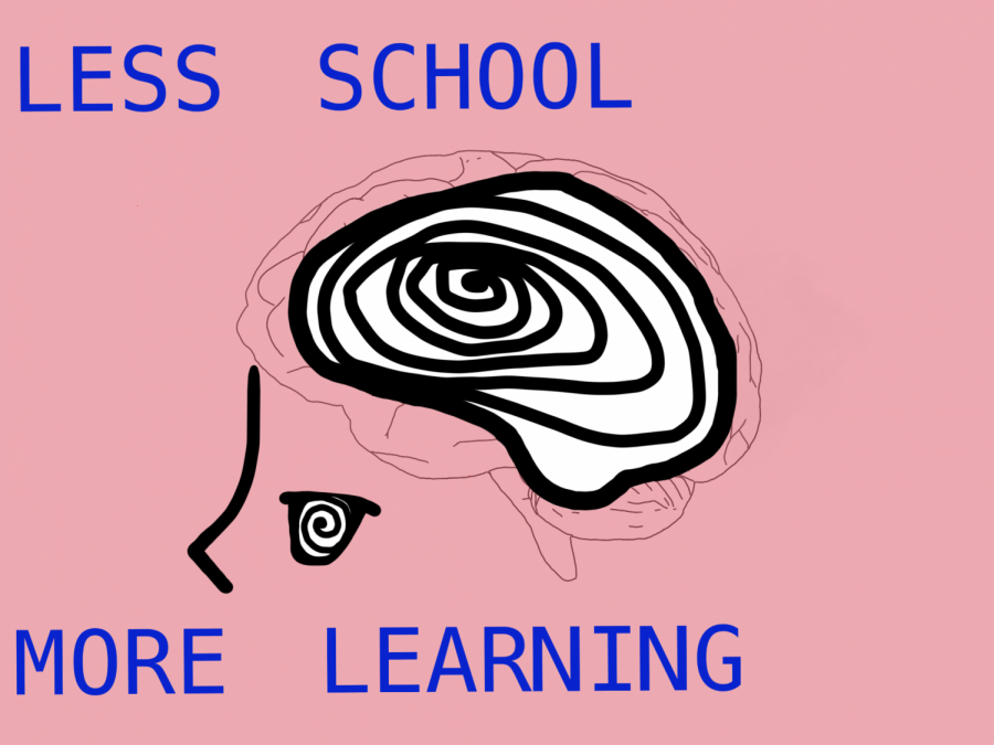 Less School and More Learning